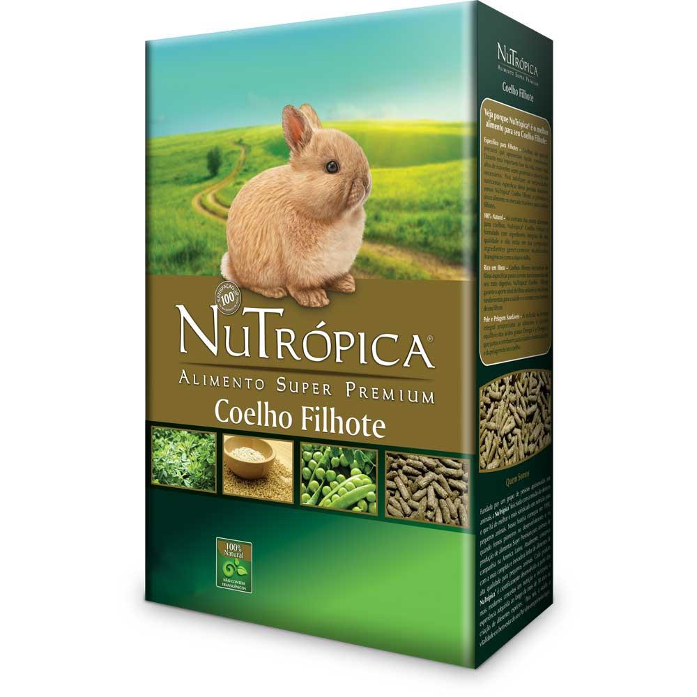 NUTRÓPICA COELHO FILHOTE 500g