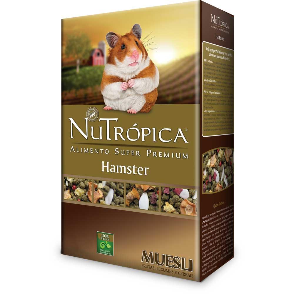 NUTRÓPICA HAMSTER NATURAL MUESLI 300g