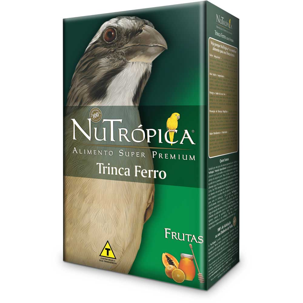 NUTRÓPICA TRINCA FERRO COM FRUTAS E PIMENTA 300g