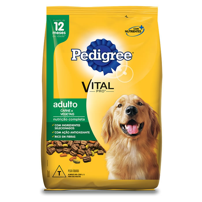 Pedigree Carne e Vegetais