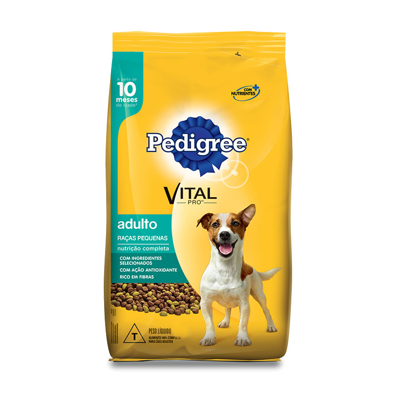 Pedigree Racas Pequenas
