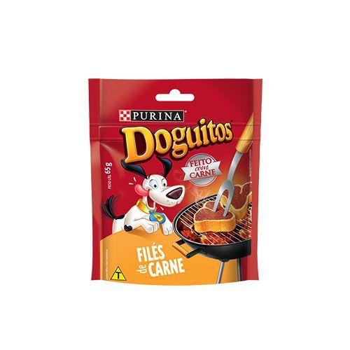 Petisco Doguitos Filés de Carne 65g