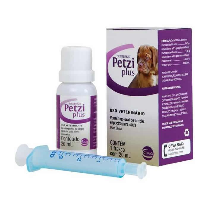 Petzi Plus Suspensão 20ml