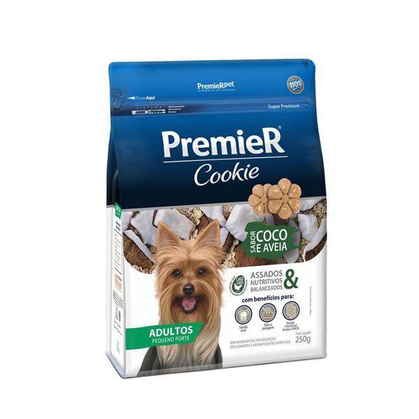 Premier Cookie Coco e Aveia Cães Adultos Pequeno Porte