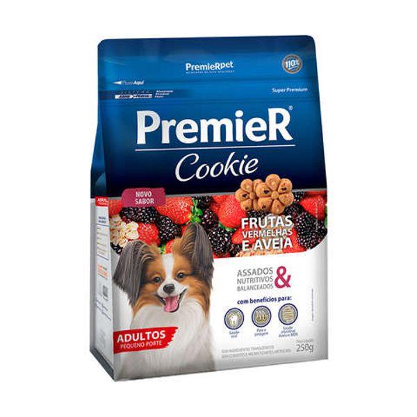 Premier Cookie Frutas Vermelhas e Aveia Cães Adultos Pequeno Porte