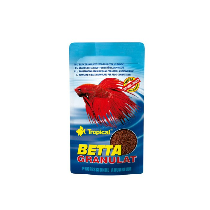 Ração Betta Granulat Tropical