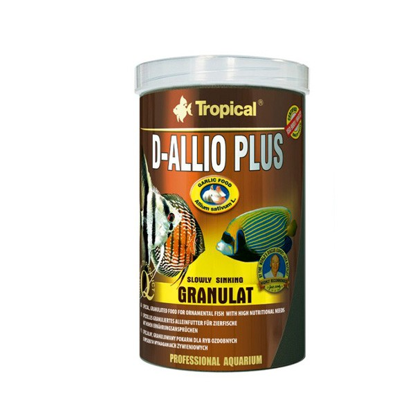 Ração D-Allio Plus Granulat Tropical