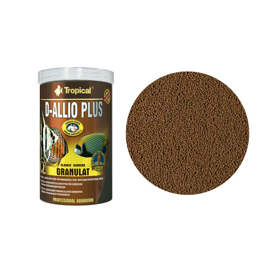 Ração D-Allio Plus Granulat Tropical