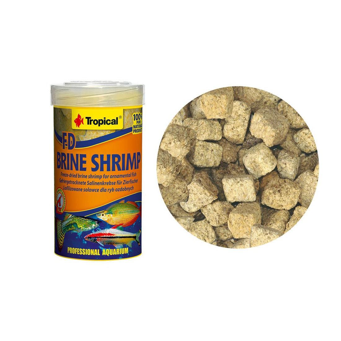 Ração FD Brine Shrimp Tropical