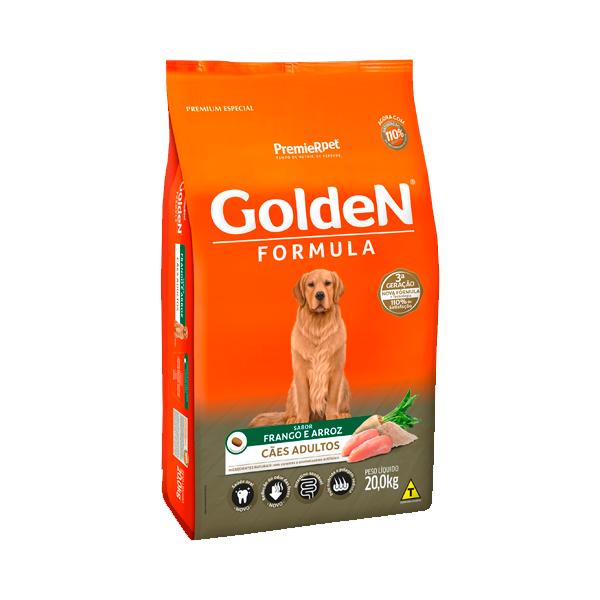 Ração Golden Formula Cães Adultos Frango & Arroz