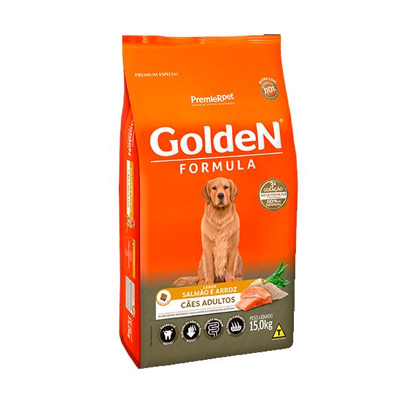 Ração Golden Formula Cães Adultos Salmão & Arroz