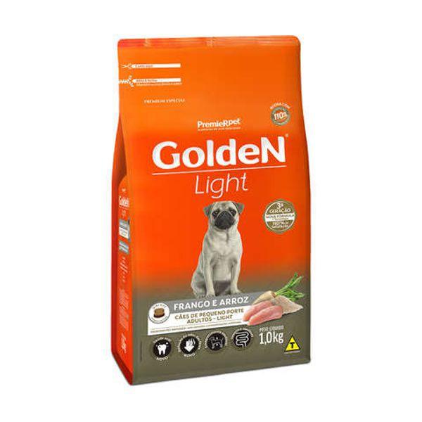 Ração Golden Light para Cães Adultos Mini Bits Frango e Arroz