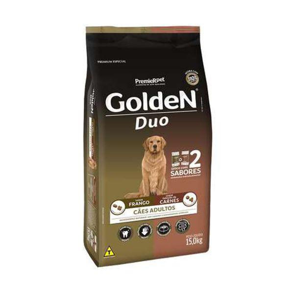 Ração Golden para Cães Adultos DUO Frango e Carne