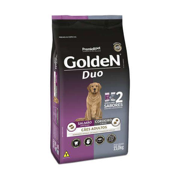 Ração Golden para Cães Adultos DUO Salmão e Cordeiro
