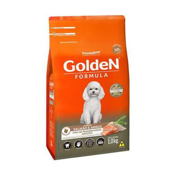 Ração Golden para Cães Adultos Mini Bits Salmão e Arroz