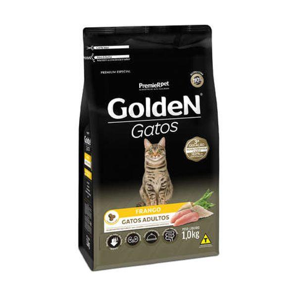 Ração Golden para Gatos Adultos Frango