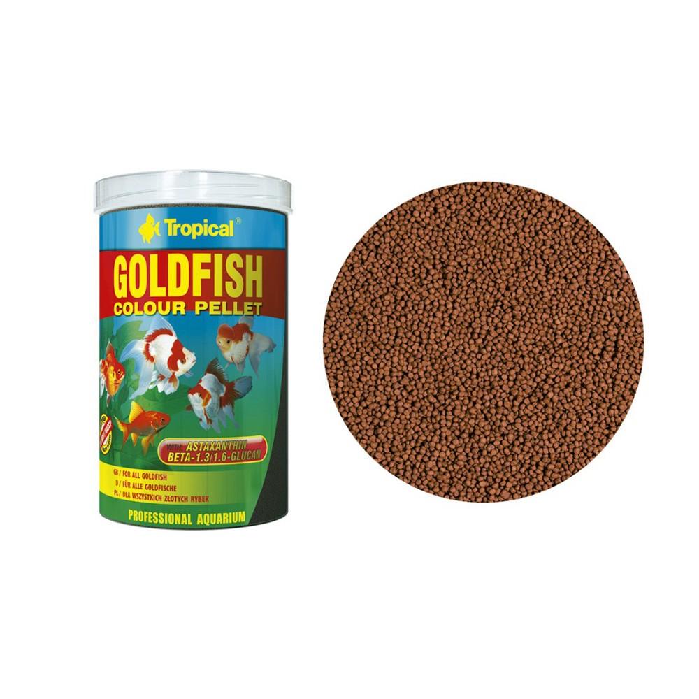 Ração Goldfish Colour Pellet Tropical