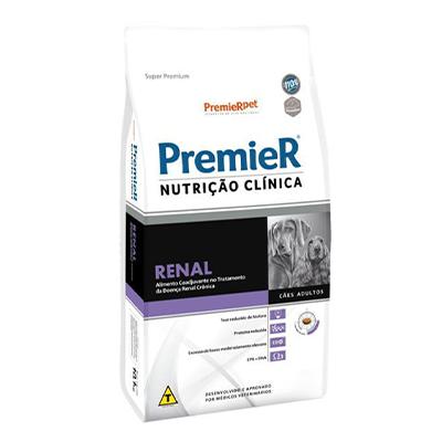 Ração Premier Nutrição Clínica Renal para Cães