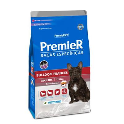 Ração Premier Raças Específicas Bulldog Francês Adulto Sabor Frango