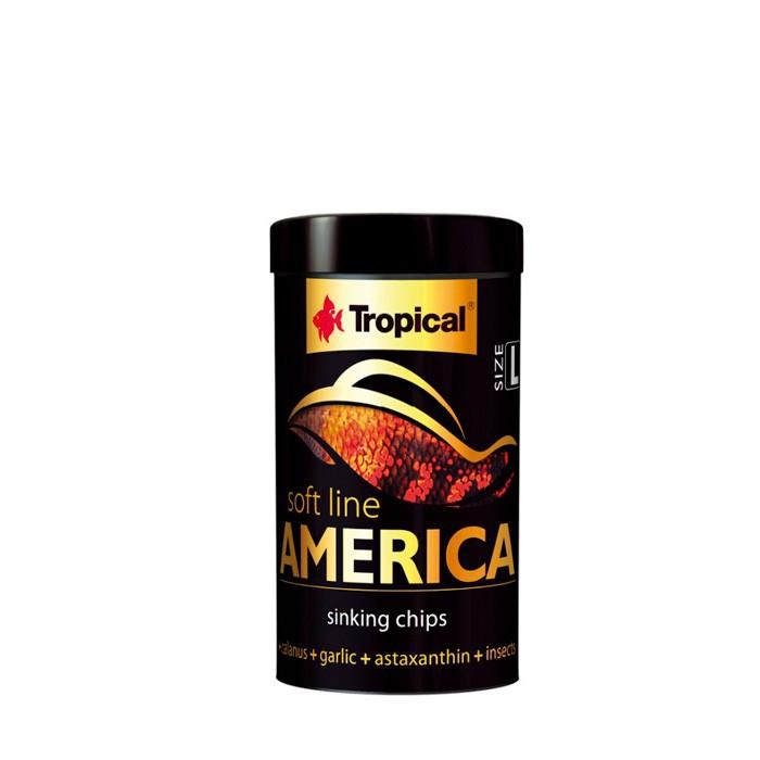 Ração Soft Line America Size L Tropical