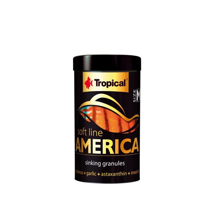 Ração Soft Line America Size M Tropical