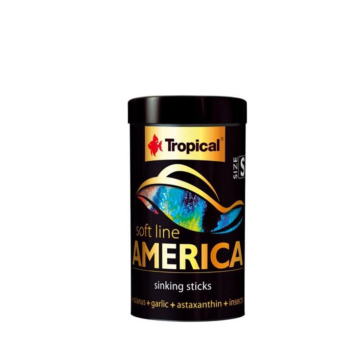 Ração Soft Line America Size S Tropical