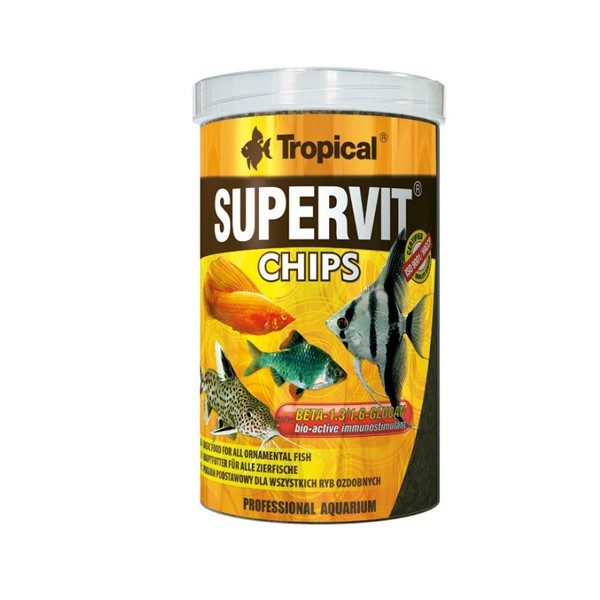 Ração Supervit Chips Tropical