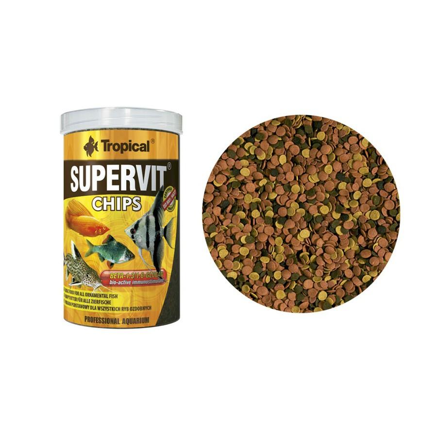Ração Supervit Chips Tropical