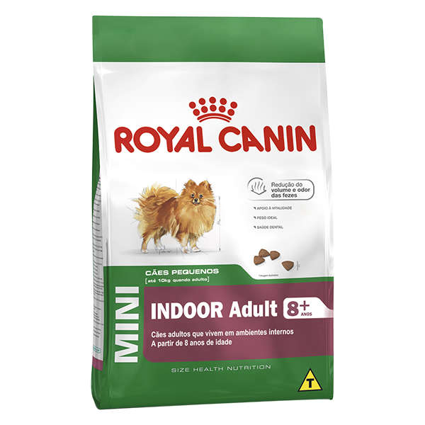 Royal Canin Mini Indoor Adult 8+