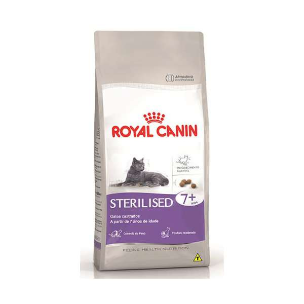 Royal Canin Sterilised + de 7 Anos