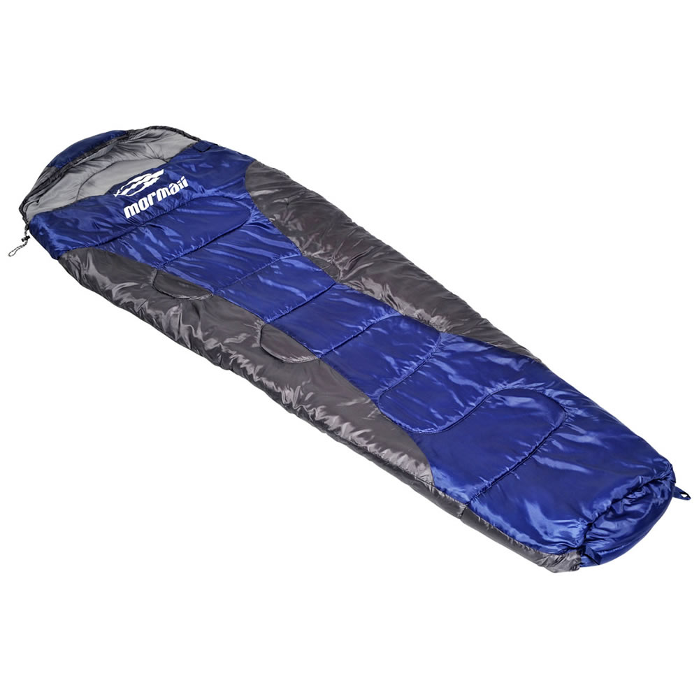 Saco de dormir Mormaii Concha III Cinza e Azul L