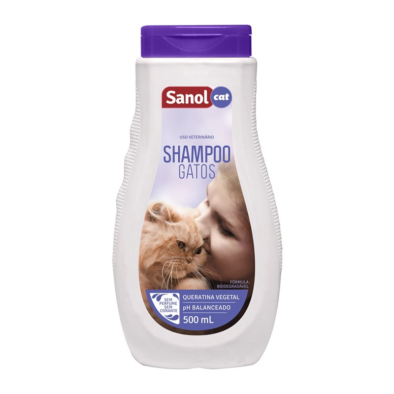 Sanol Cat Shampoo 500 mL
