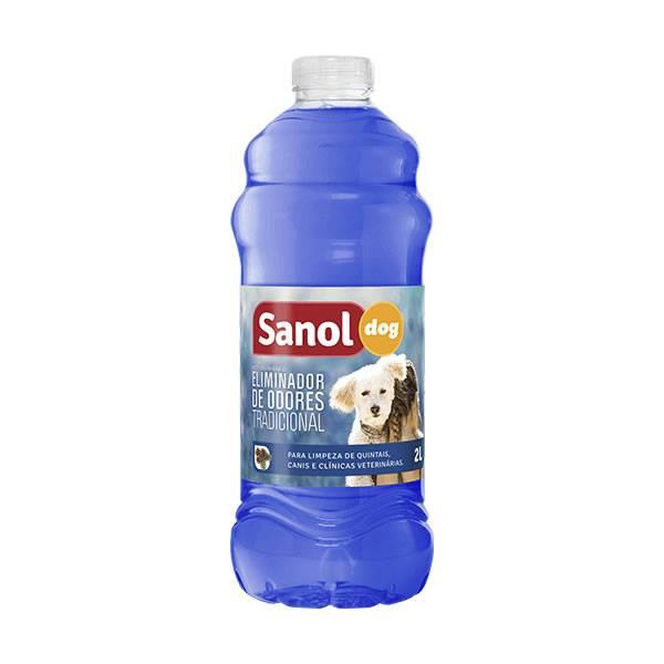 Sanol Dog Eliminador de Odores Tradicional 2L