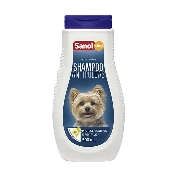 Sanol Dog Shampoo Antipulga 500ml