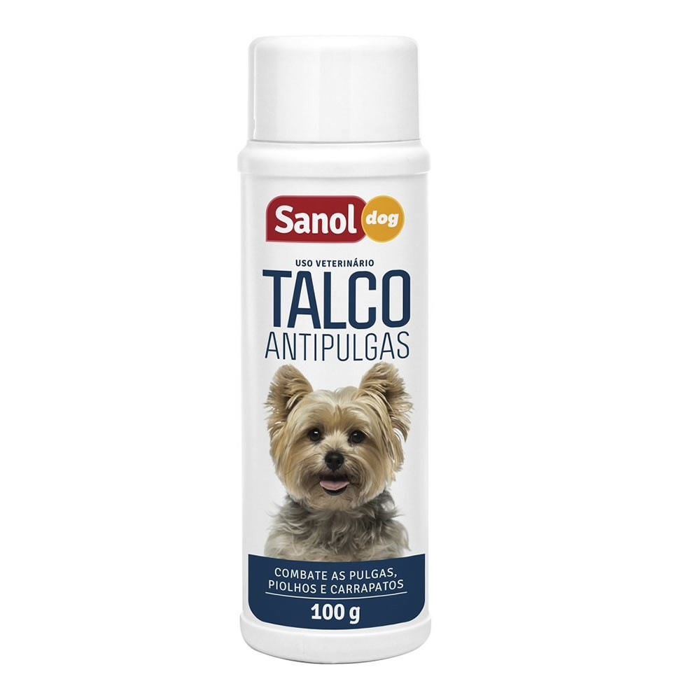 Sanol Dog Talco Anti Pulga 100g