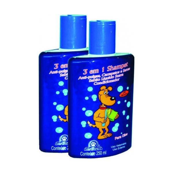 Shampet Shampoo 3 em 1 250ml