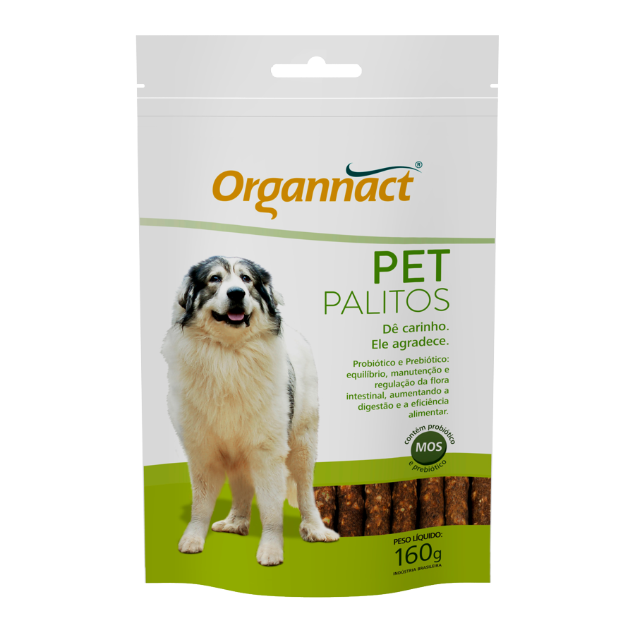 Suplemento Organnact Pet Palitos