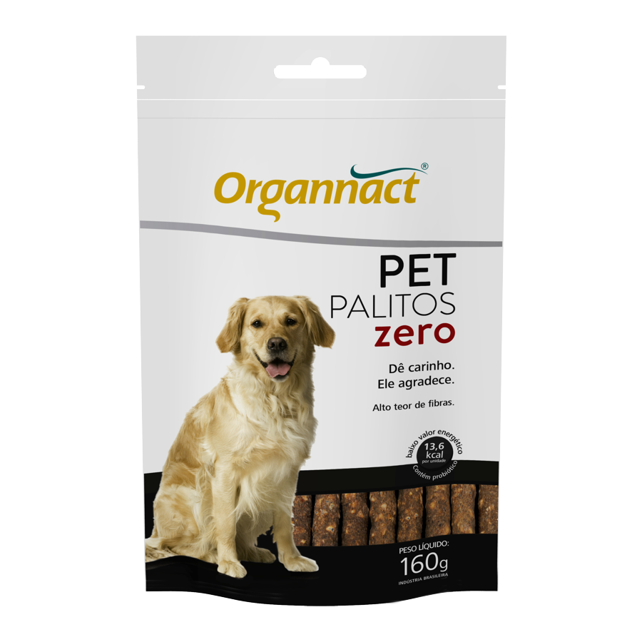 Suplemento Organnact Pet Palitos Zero