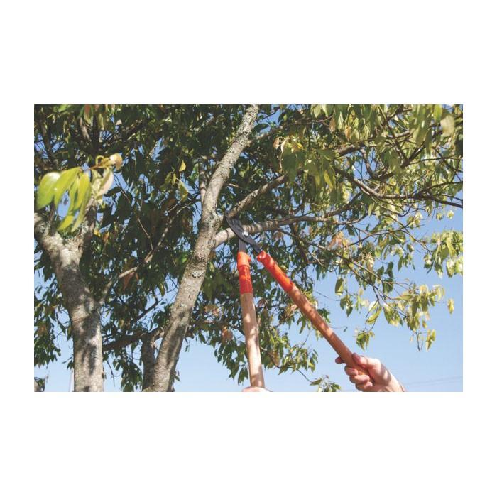 Tesourão de poda metálico com cabo de madeira 43cm Ref 78360/505