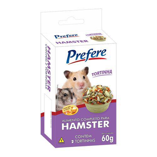 Tortinha para Hamster Prefere 60g
