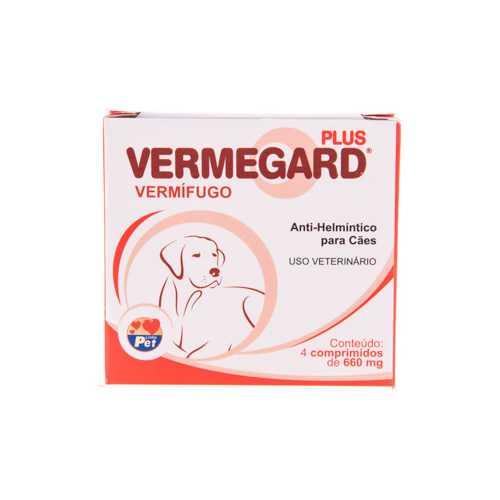 Vermegard Plus 4 comprimidos