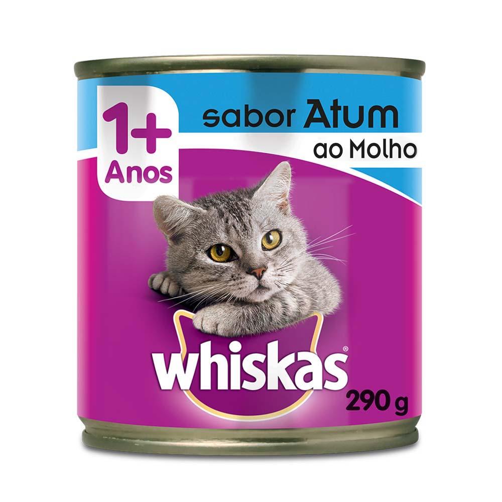 Whiskas Atum ao Molho Lata 290g