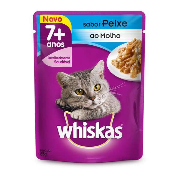 Whiskas Peixe Adulto 7+ Sachê 85g