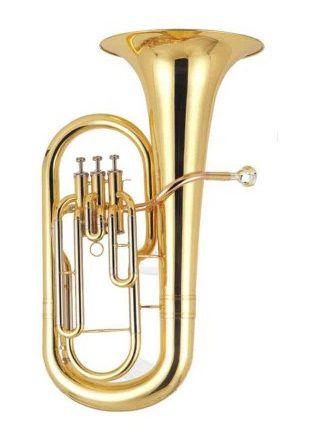 Euphonium (Bombardino) Bb 3 Pistos - BLAVER  - Scavone Instrumentos Musicais