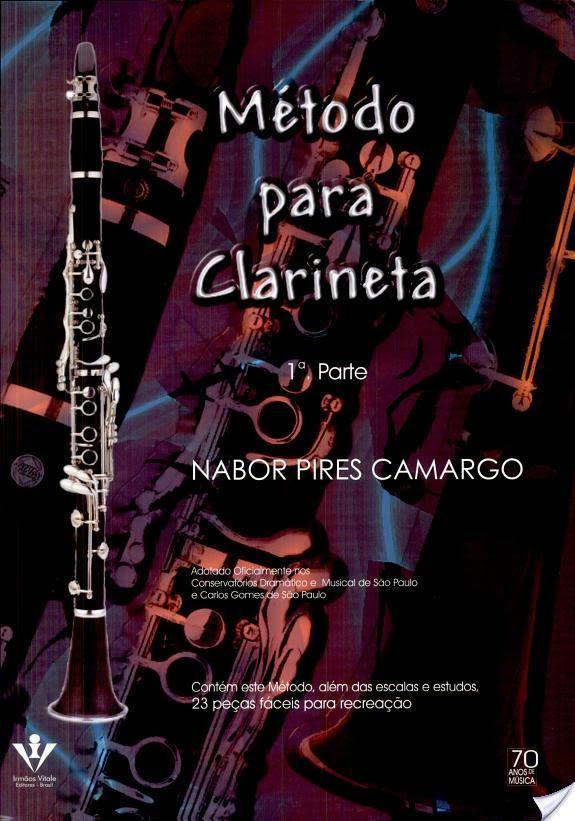 Método para Clarinete - 1ª Parte   - Scavone Instrumentos Musicais