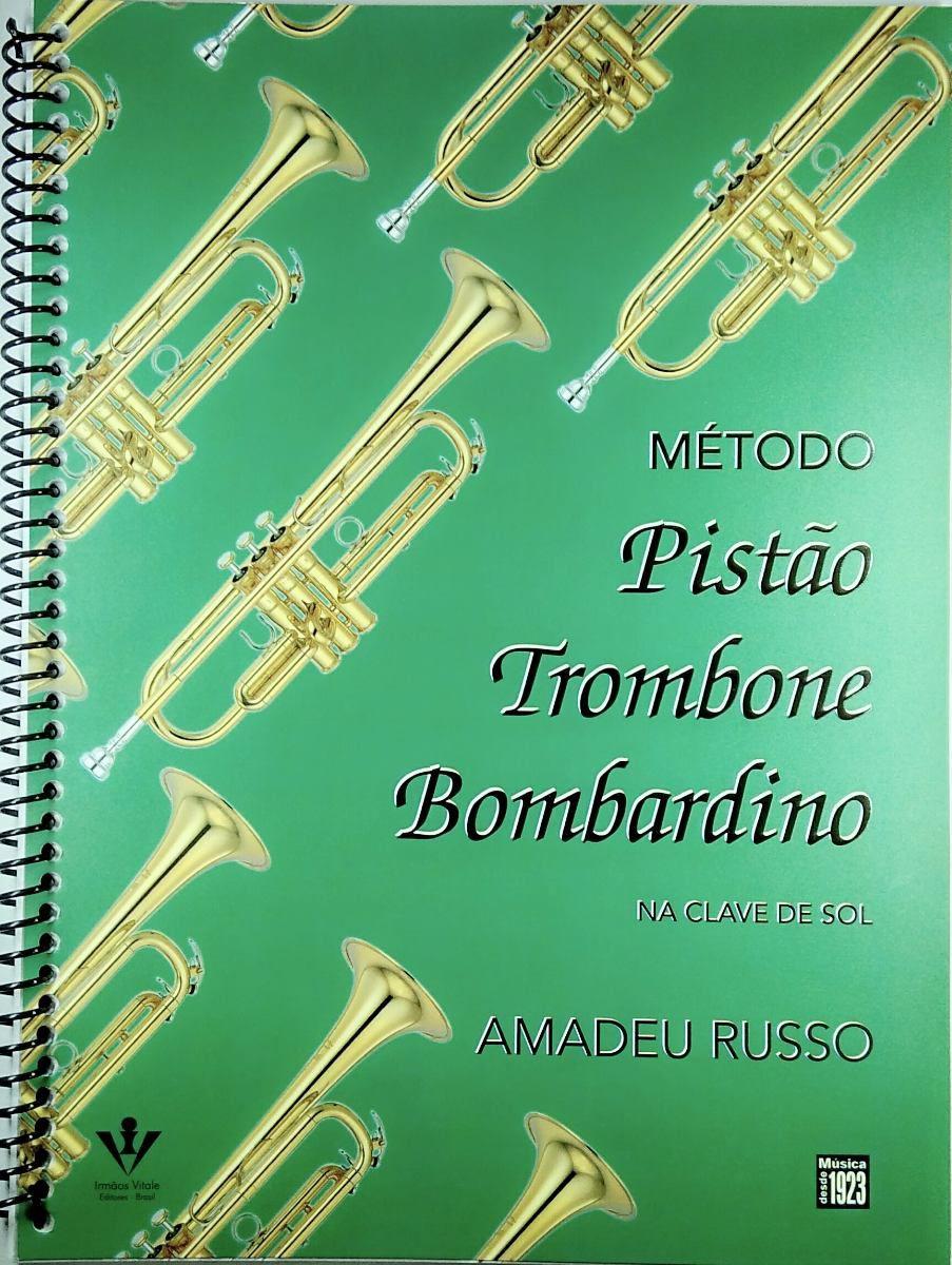 Método para Pistão, Trombone e Bombardino  - Scavone Instrumentos Musicais