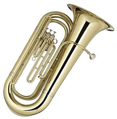Tuba 3/4 Bb (Bombardão) 3 Pistos BLAVER
