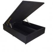 Cama Box Baú Bipartido Casal Premium 1,38 x 1,88 x 0,40 Diversas Cores
