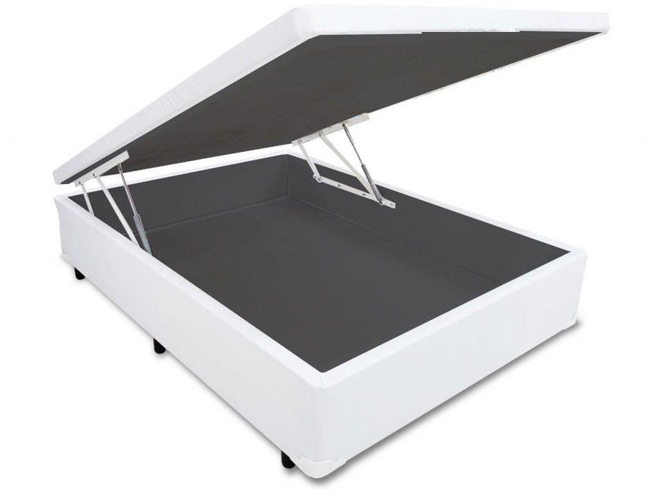 Cama Box Bau Solteirão 1,10 x 1,88 x 0,40 Inteiriço Premium ( Várias Cores )