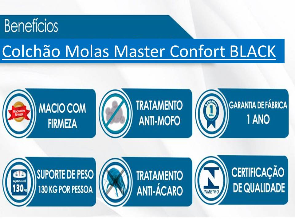 Conjunto Baú - Colchão Luxor Plumatex + Cama Baú Solteiro Premium 0,88 x 1,88 Diversas Cores
